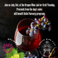 Grati-Tuesday at the Oregon Wine Lab, Tuesday, July 31st from Noon-8 p.m.
