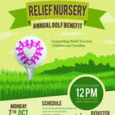 Relief Nursery's Annual Golf Benefit, Monday, October 7th
