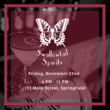 Toast with us at Swallowtail Spirits