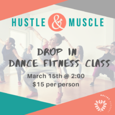 Dance Like Nobody Is Watching at Hustle & Muscle Fitness